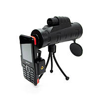 🔝 Монокуляр Панда для смартфона, Panda monocular 35х50, 10-ти кратный зум объектив для телефона , Разные товары для туризма и отдыха