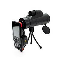 Монокуляр Панда для смартфона, Panda monocular 35х50, 10-ти кратный зум объектив для телефона , Разные товары для туризма и отдыха