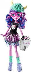 Кукла монстер хай Кьерсти Троллсен Монстры по обмену Kjersti Trollson Brand-Boo Student Monster high оригинал