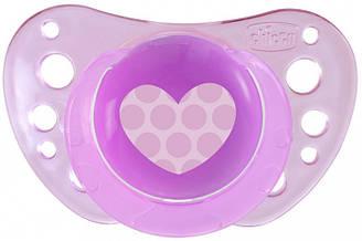 Пустушка Physio Air силіконова від 6 до 16 місяців 2 шт (рожева) Chicco