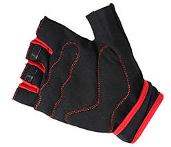 Рукавички для фітнесу SportVida SV-AG0006 (M) Black, фото 3