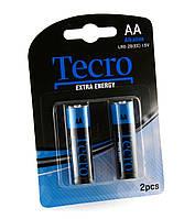 Элементы питания (батарейки) АА Tecro LR6-2B(EE)