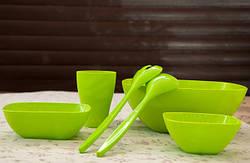 Пластиковая Посуда для Пикника