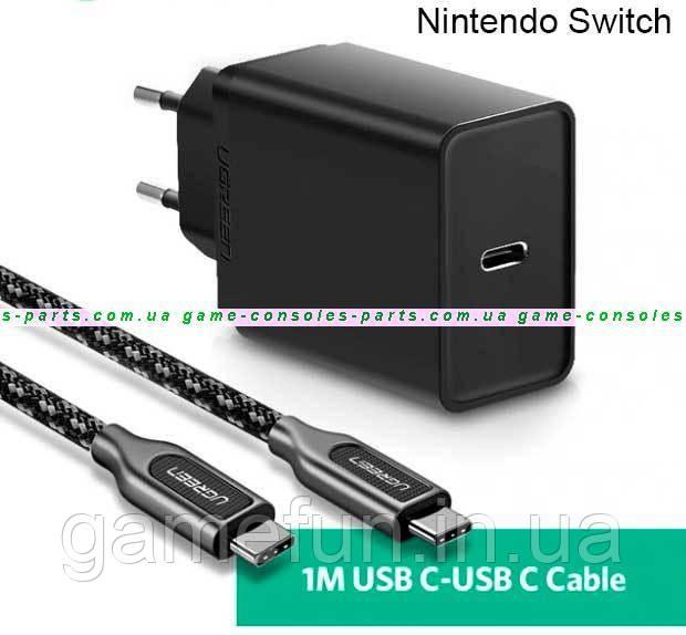 Блок питания, зарядное устройство Nintendo Switch Оригинал