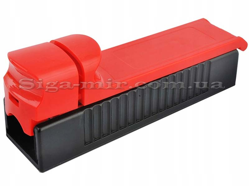 Машинка Для Набивки Сигаретных Гильз Табаком MB-01 Красная