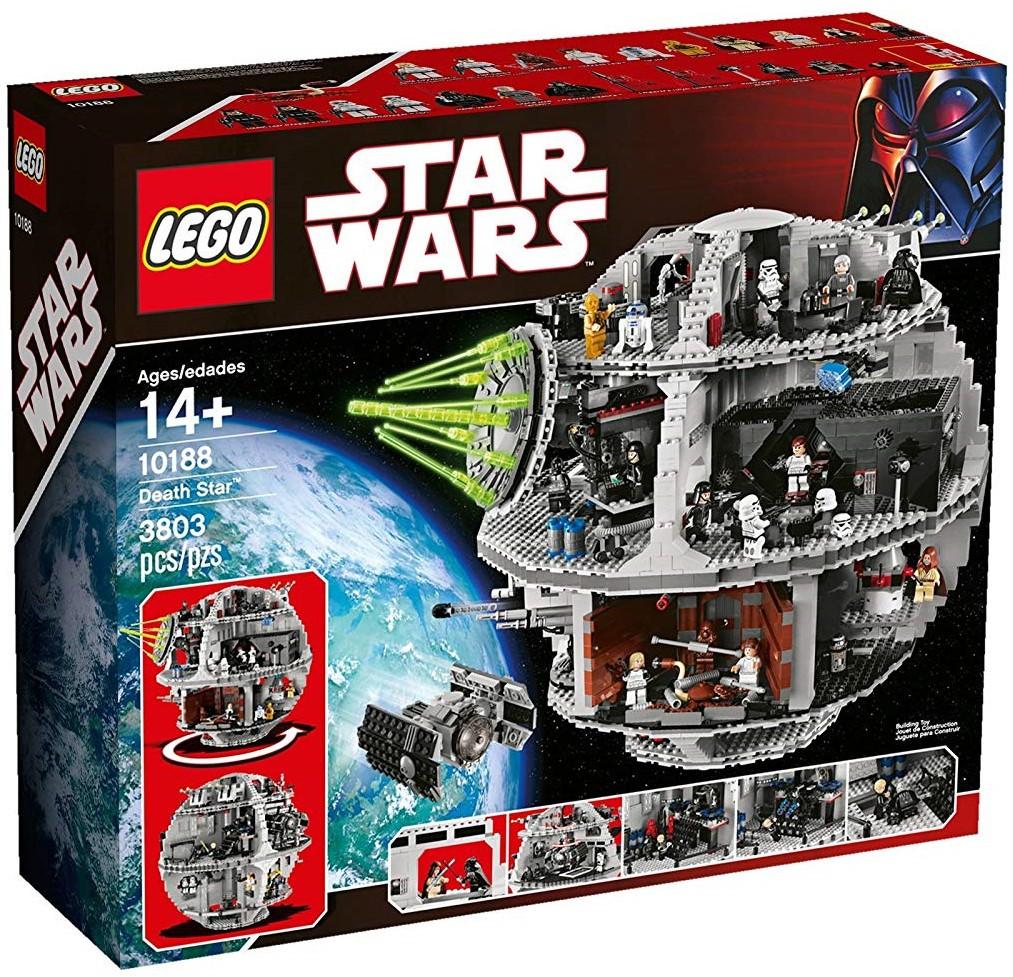 Lego Star Wars Звезда Смерти 10188