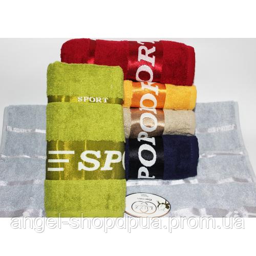 Банные полотенца для ванны, комплект полотенец для дома, полотенце 140х70 см махра СПОРТ.