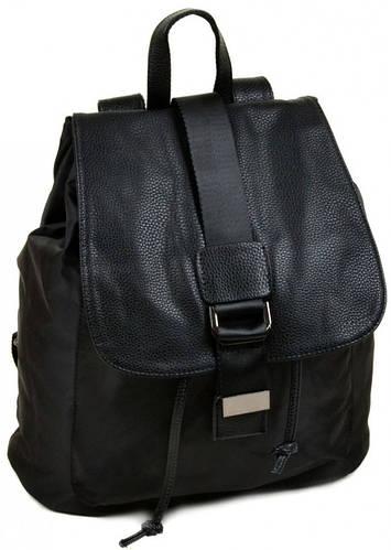 Замечательный рюкзак из нейлона 8710 black, черный