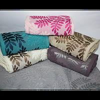 Банные полотенца для ванны, комплект полотенец для дома, полотенце 140х70 см махра ПАЛЬМА., фото 1