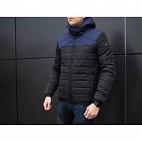 Куртка Pobedov Rise зима черно-синий зима M