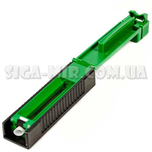 Ручная Машинка Для Набивки Сигаретных Гильз Табаком MB-01 Зеленая