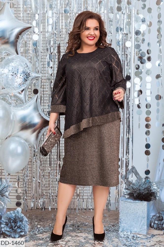 Жіноче плаття (розміри 54-60) 0228-47