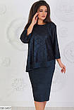 Жіноче плаття (розміри 54-60) 0228-47, фото 2