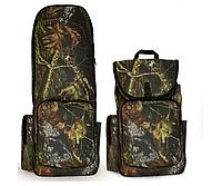 Влагостойкий рюкзак для металлоискателя и лопаты Камуфляж (лес). Плотная  водоотталкивающая ткань