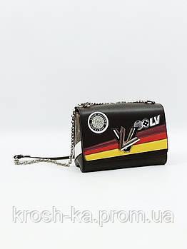 Женская сумка клатч LV Турция коричневый 5560