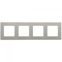 ETIKA Рамка 4-постова Світла галька