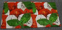 "№ 22 Салфетка для декупажа или сервировки стола ""Моцарелла с помидорами"". 33х33"