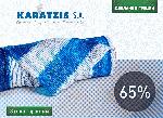 Біло-зелена затіняюча сітка Karatzis 65%, фото 2