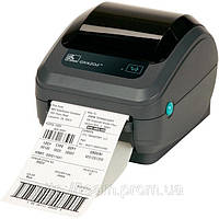 Настільний принтер етикеток Zebra GK420d, фото 1