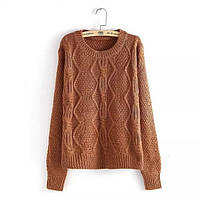 Теплый свитер, 3 цвета, фото 1