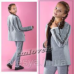 Стильный костюм-тройка для девочек Wings 1 TM LOVEIS. Размеры 140- 170