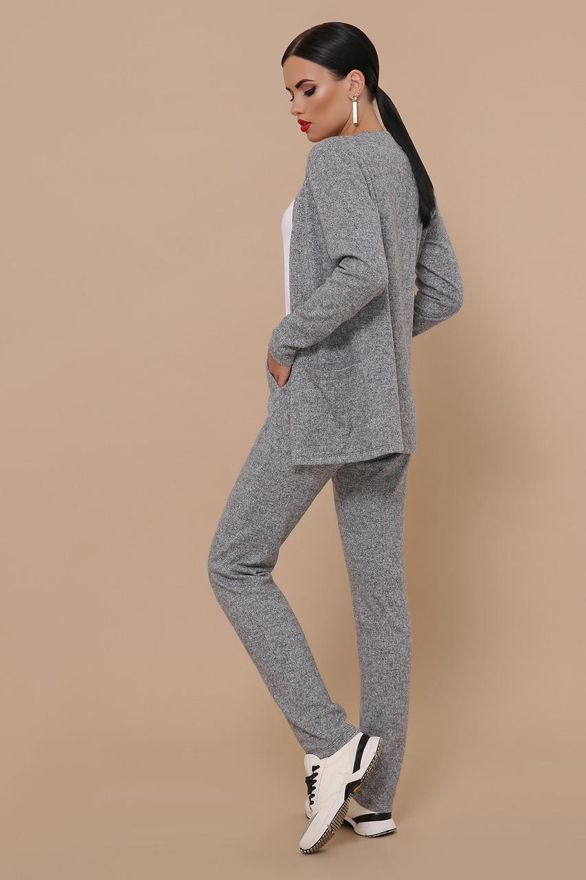 Трикотажный брючный костюм кардиган и  брюки GL-Трейси, фото 3