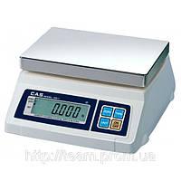 Весы электронные торговые CAS SW