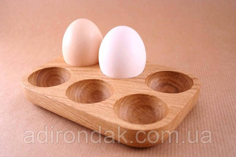 """Подставка для 6 яиц """"Дуб / Підставка для 6 яєць """"Дуб"""""""
