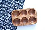 """Подставка для 6 яиц """"Дуб / Підставка для 6 яєць """"Дуб"""", фото 5"""