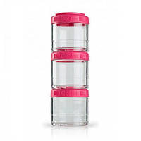 Контейнер спортивный BlenderBottle GoStak 3 Pak Pink, Original R145329