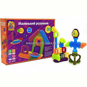 Конструктор игольчатый Fun Game Маленький розумник, 50 деталей (8204)