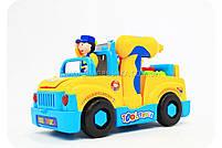 Конструктор Собирайка машинка-грузовик с шуруповертом на батарейках 789, фото 3