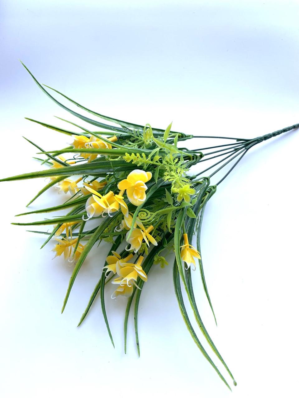 Искусственный букет с мелкими орхидеями (30 см)