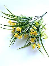 Искусственный букет с мелкими орхидеями (30 см), фото 2