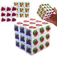 "Кубик Рубика ""Фрукты"" 3 х 3 х 3 IGR73"