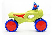 Мотоцикл-толокар «kinderway» Салатовий 11-008, фото 2
