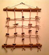 Мотузкова мережу для папуги L