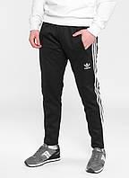 Штаны спортивные мужские теплые Adidas черные