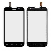 Тачскрин LG D325 Optimus L70 Dual чёрный (64x124)