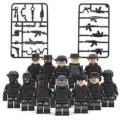 Фигурки SWAT спецназовцы военные армия Лего Lego BrickArms