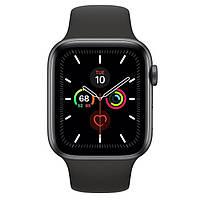 Смарт-часы Apple Watch Series 5 GPS 44mm Space Gray Aluminum w. Black b.- Space Gray Aluminum (MWVF2)