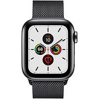 Смарт-часы Apple Watch Series 5 LTE 40mm Space Black Steel w. Space Black Milanese Loop - Space Black Steel (MWWX2)