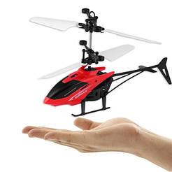 Вертолет Sky Shock летает от руки, летающий вертолетик на аккумуляторе сенсорное управление