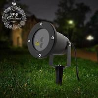 Лазерный Проектор Оutdoor Lawn Laser Light точки уличный в металлическом корпусе