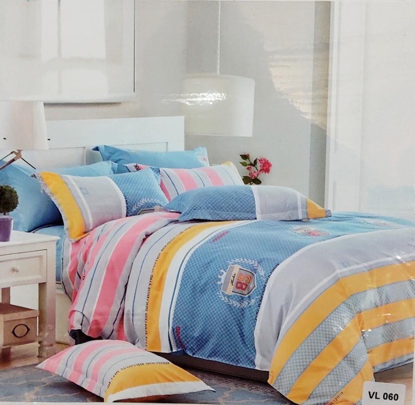 Комплект постельного белья микровелюр Vie Nouvelle Velour 200х220  VL060