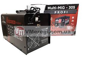 Сварочный полуавтомат инверторный Сталь MULTI-MIG-305 PROFI, фото 2