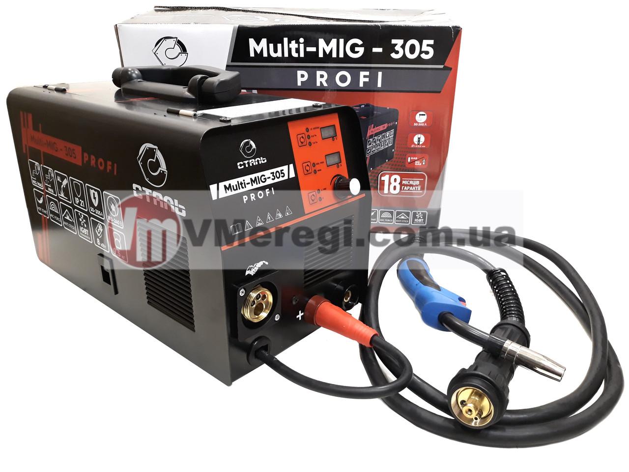 Сталь MULTI-MIG-305 PROFI Сварочный полуавтомат инверторный