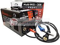 Сварочный полуавтомат инверторный Сталь MULTI-MIG-305 PROFI