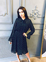 Шифоновое платье миди, фото 1