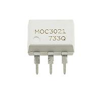 Оптопара MOC3021 с симисторным выходом 400В, переключение в любой момент времени [DIP-6]
